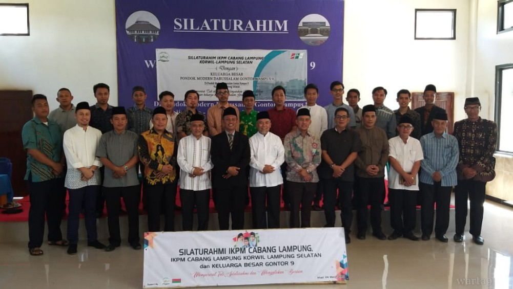 The Family Association of Darussalam Gontor Branch Lampung Appointed a Regional Coordinator for South of Lampung