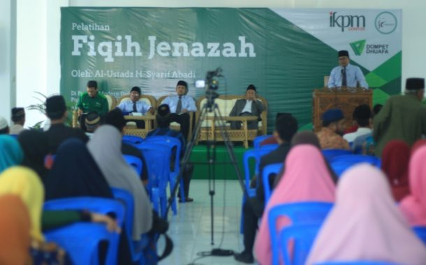 The Family Association of Darussalam Gontor Conducted Janazah (Deceased) Management Course in Cooperation with Dompet Dhuafa
