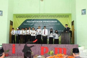 Peresiman dan pelantikan IKPM dan pengurus IKPM cabang Manado