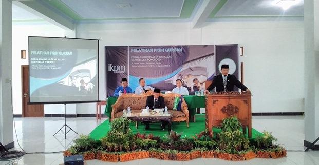 120 Takmir Masjid Se-Ponorogo Ikuti Pelatihan Fikih Kurban