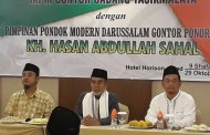 Kiai Hasan Hadiri Silaturrahim IKPM Tasikmalaya dan Sosialisasi FORBIS IKPM Gontor