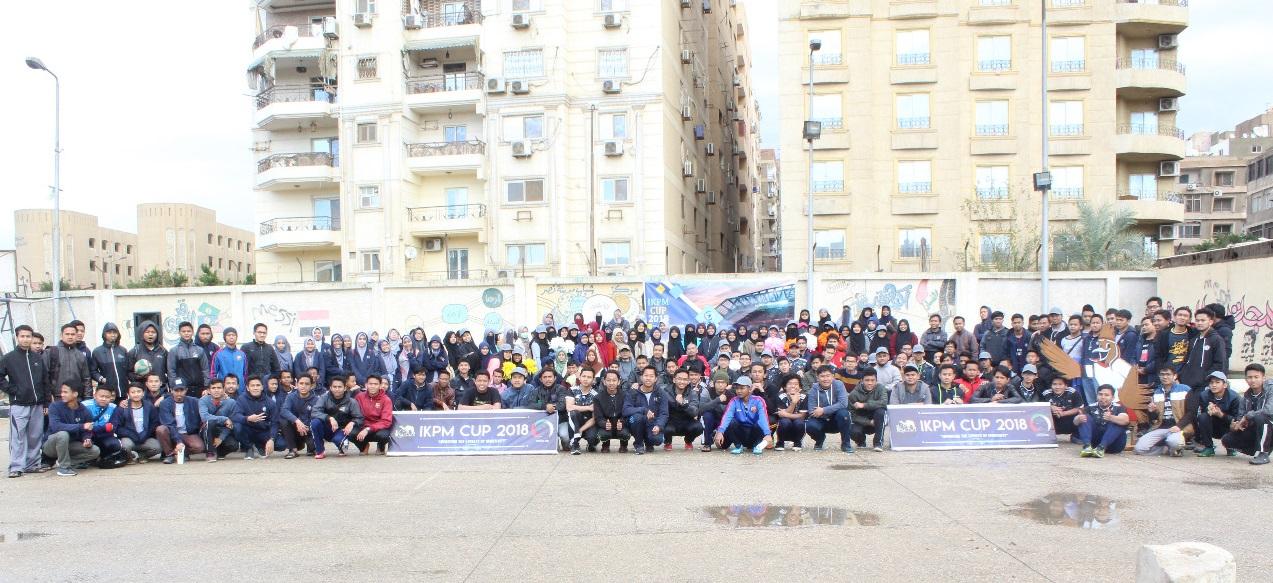 Tingkatkan Loyalitas dan Sportivitas, IKPM Cabang Kairo Gelar IKPM Cup 2018
