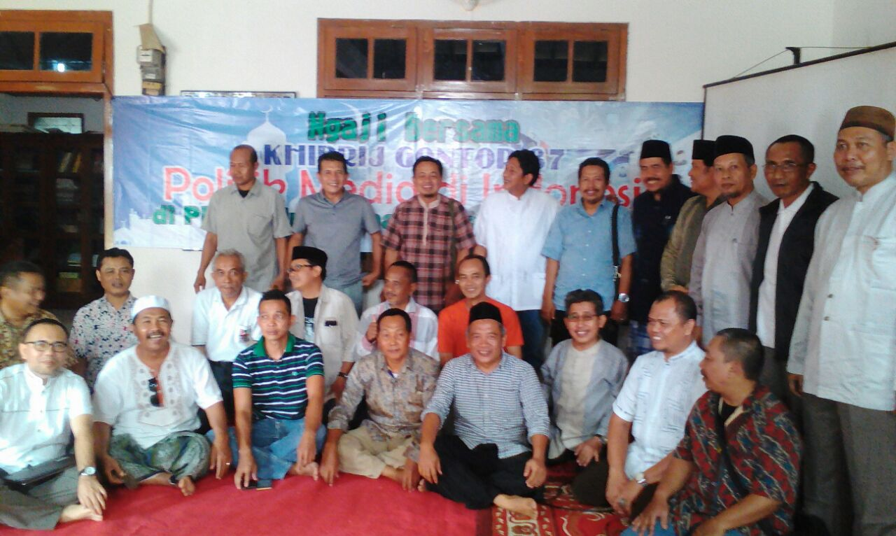 IKPM Gontor Cabang Tangerang Gelar Tajammuk dan Pengajian Alumni Gontor 1987