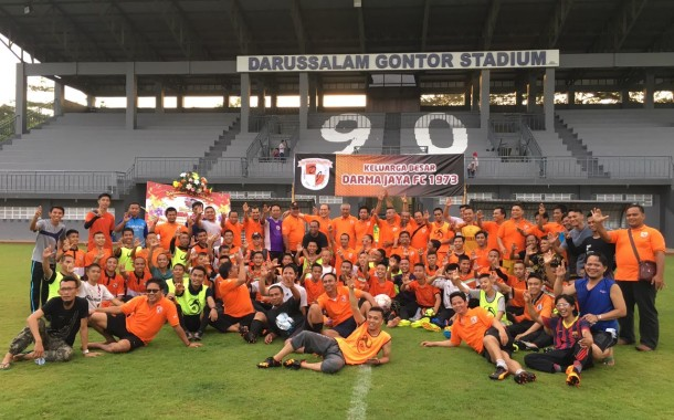 Darmajaya Football Club Gelar Reuni Akbar
