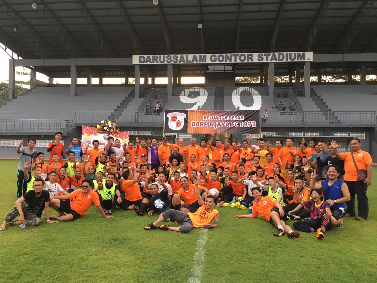 Darmajaya Football Club Gelar Reuni Akbar