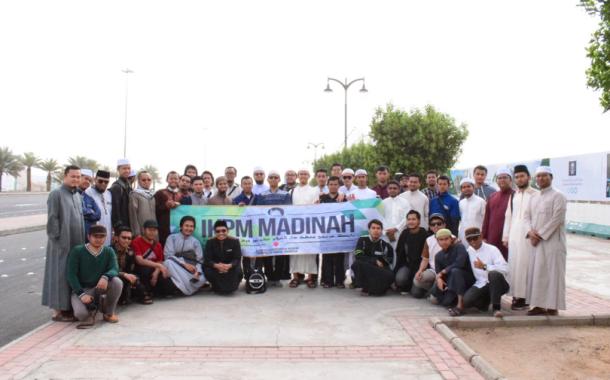 IKPM Gontor Cabang Madinah Adakan Rihlah Tatbiqiyyah Maidaniyyah