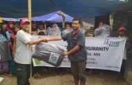 IKPM Gontor Cabang Aceh Salurkan Bantuan untuk Korban Gempa Lombok