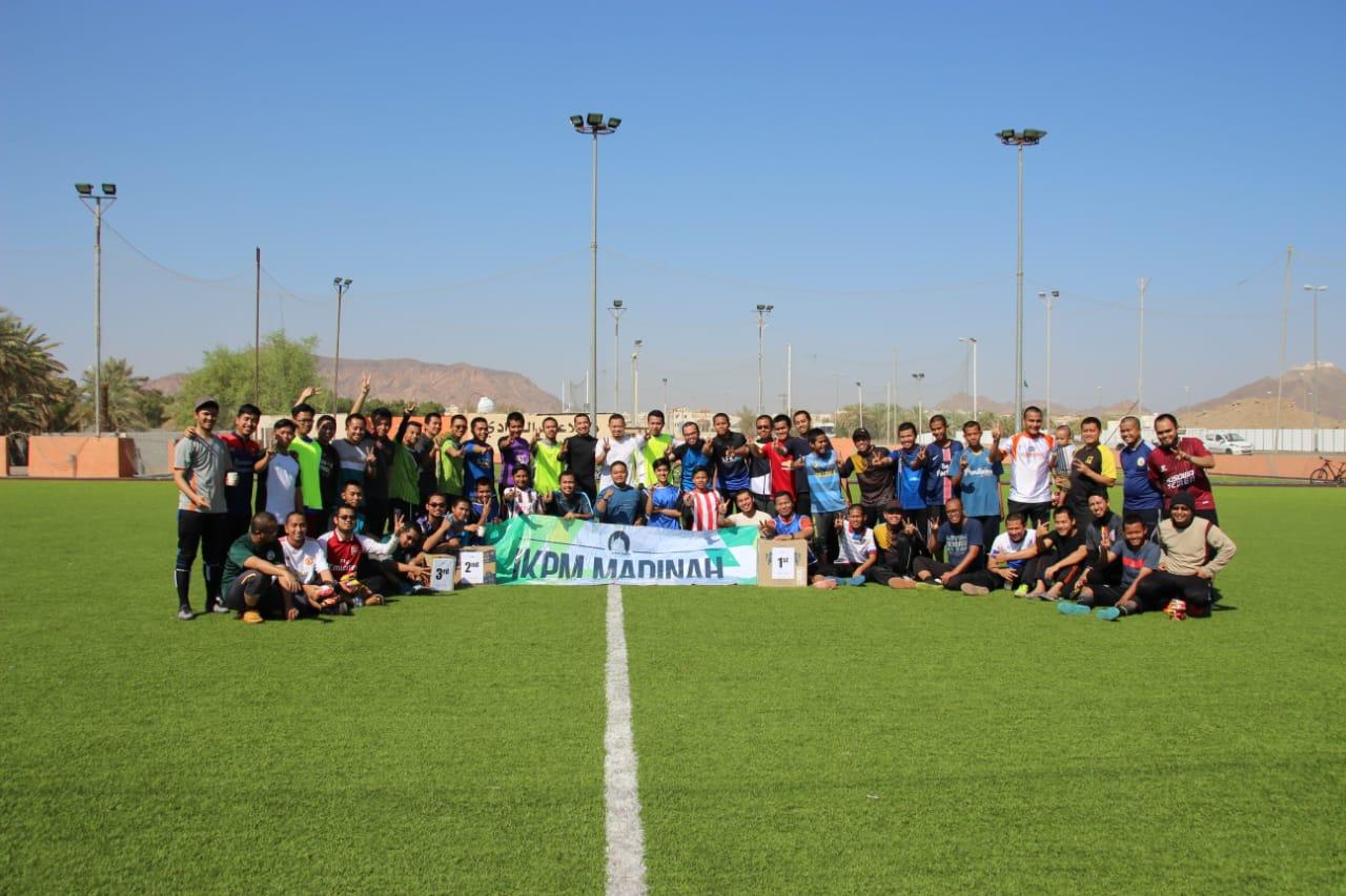 IKPM Gontor Cabang Madinah Gelar Turnamen Futsal