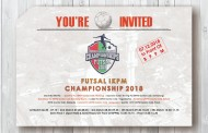 Saksikan, Final IKPM Futsal Championship 2018 Digelar Jumat Besok