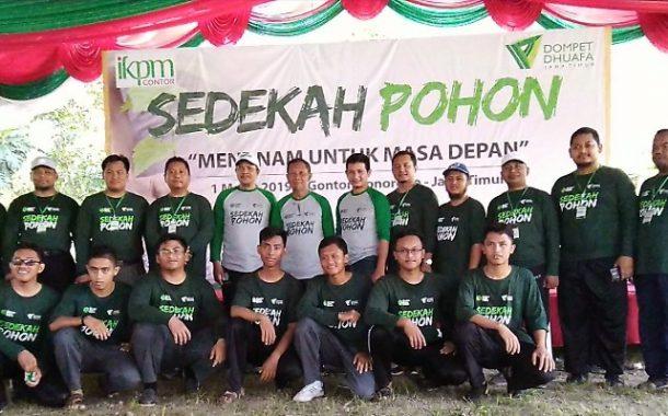 Dompet Dhuafa Jawa Timur dan PP IKPM Gelar Acara Sedekah 1100 Pohon
