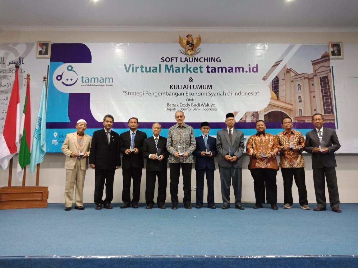 PP IKPM, FPAG dan FORBIS Hadiri Soft Launching Tamam.id di UNIDA Gontor