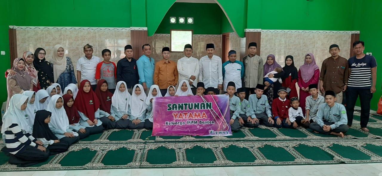 IKPM Gontor Cabang Banten Santuni Yatama