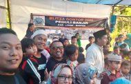 Blitza Peduli Salurkan Bantuan ke Korban Bencana Banjir Lebak-Banten