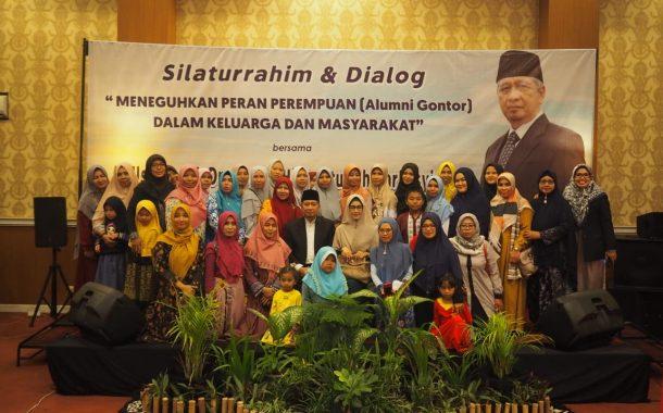 Keputrian IKPM Gontor Cabang Kars. Pati Adakan Dialog dan Silaturrahim dengan Dr. KH Ahmad Hidayatullah Zarkasyi, MA.