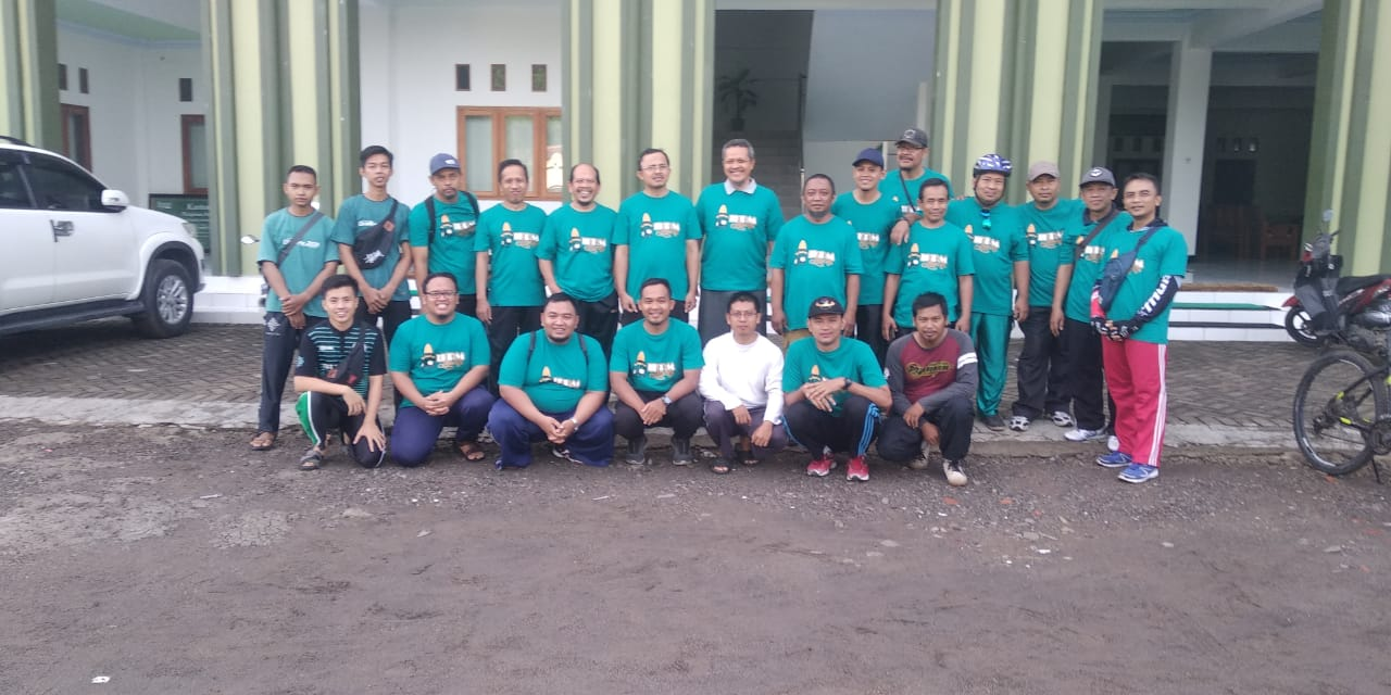 IKPM Gontor Cabang Ponorogo Adakan Gowes Bareng Road to Muscab