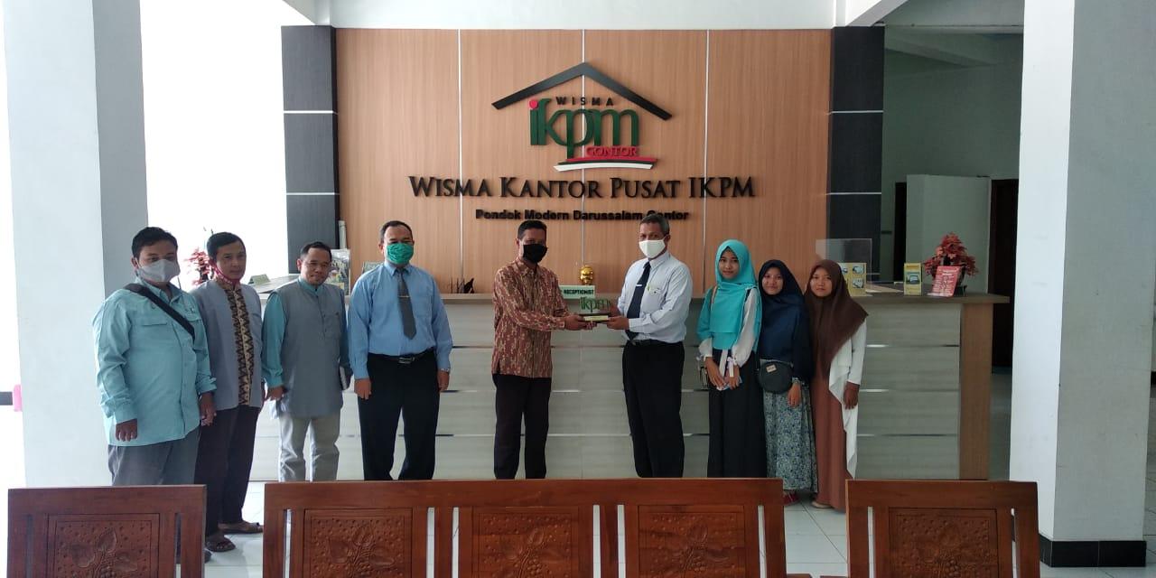 Konsultasi tentang Jasa Ekspedisi, IKPM Gontor Cabang Ngawi Silaturrahim ke PP IKPM