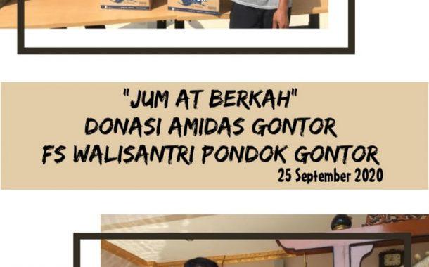 IKPM Gontor Kabupaten Bekasi dan Forum Wali Santri Donasi Amidas Gontor untuk Masjid-masjid di Kabupaten Bekasi