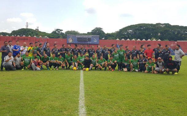 Pormada Legend Jadikan Sepakbola Media Perekat Alumni PMDG
