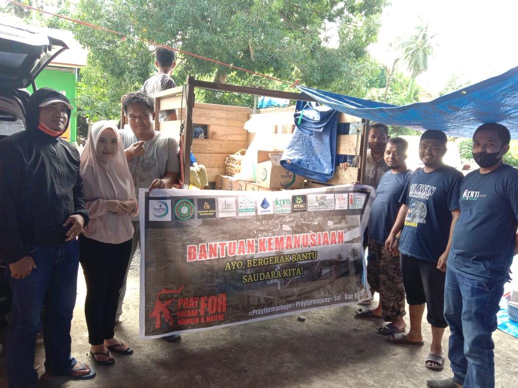 IKPM Gontor Sulselbar Salurkan Bantuan ke Sulawesi Barat