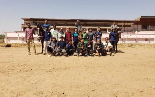 Pererat Ukhuwah, IKPM Sudan Latih Anggotanya Berkuda