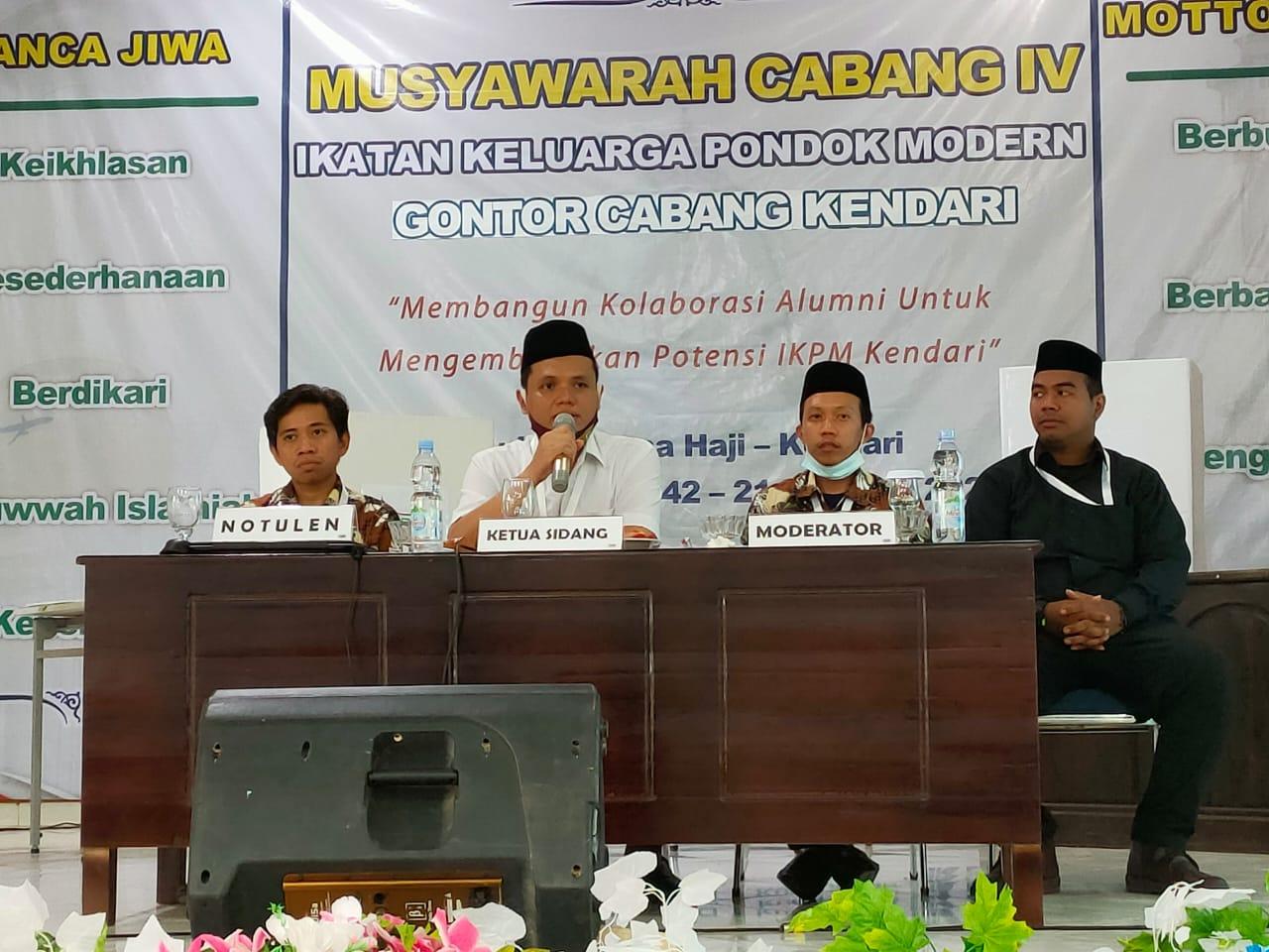 IKPM Gontor Cabang Kendari Pilih Ketua Umum Secara Aklamasi