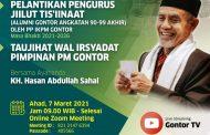 Lantik Jiilut Tis'iinaat, Kiai Hasan: Jadilah Orang yang Bermanfaat untuk Masyarakat