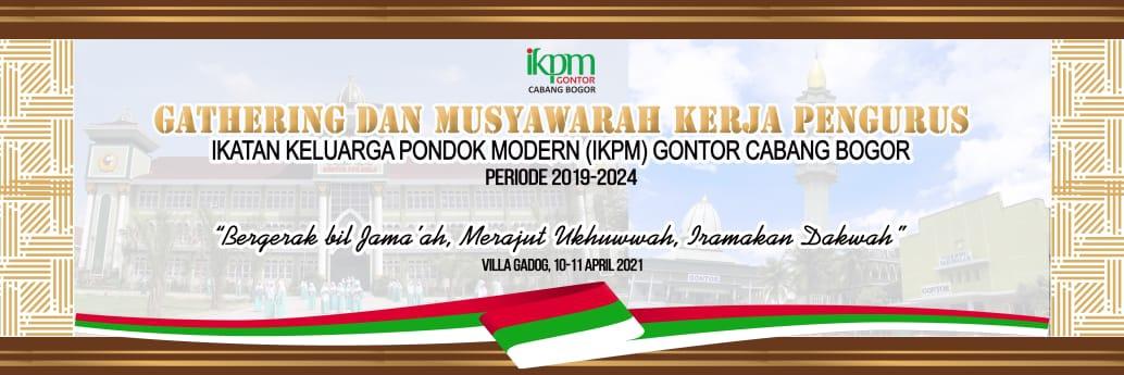 IKPM Bogor Gelar Rapat Kerja Tahunan