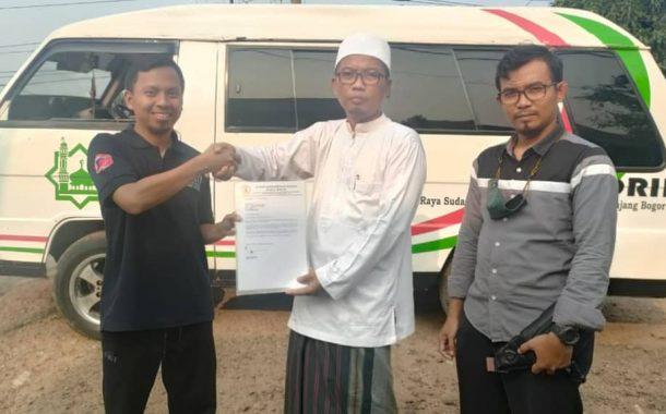 IKPM Bogor Serah Terima Amanah Baru : Wakaf 1 Unit Armada L300