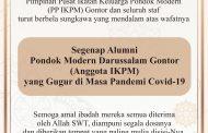 Belasungkawa PP IKPM untuk Alumni PMDG yang Gugur di Masa Pandemi