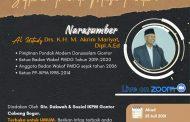 KANTIN (Kajian Rutin) Virtual Bersama Pimpinan Pondok Modern Darussalam Gontor