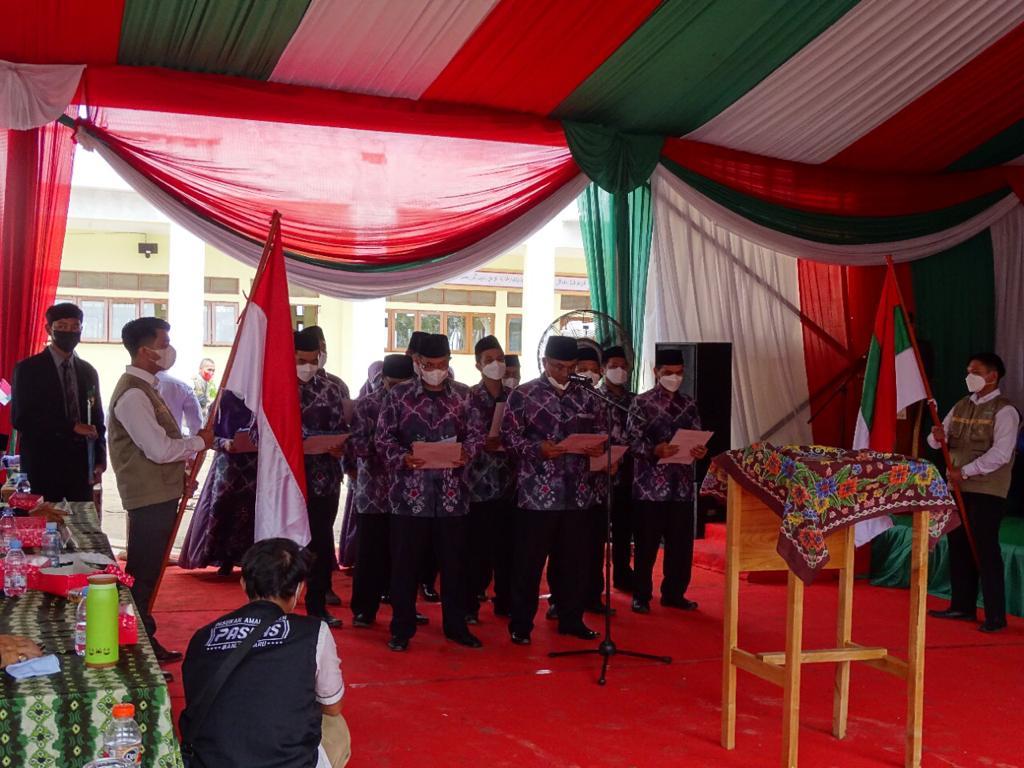 Pelantikan Pengurus Cabang IKPM Kalimantan Selatan Dihadiri oleh Pimpinan Pondok Modern Darussalam Gontor Ponorogo