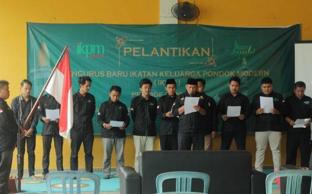 Dihadiri Oleh PP IKPM Gontor, IKPM Cabang Jambi Adakan Pelantikan Pengurus Baru Secara Online