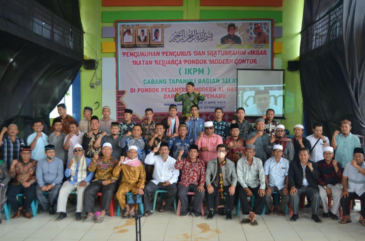 Pelantikan Pengurus Cabang IKPM Tapanuli Selatan Melalui Via Online