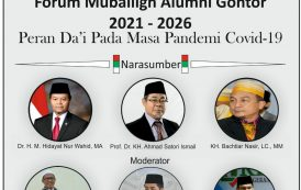 Seminar Nasional Dan Pelantikan Pengurus Pusat Forum Muballigh Alumni (FMA) Gontor.